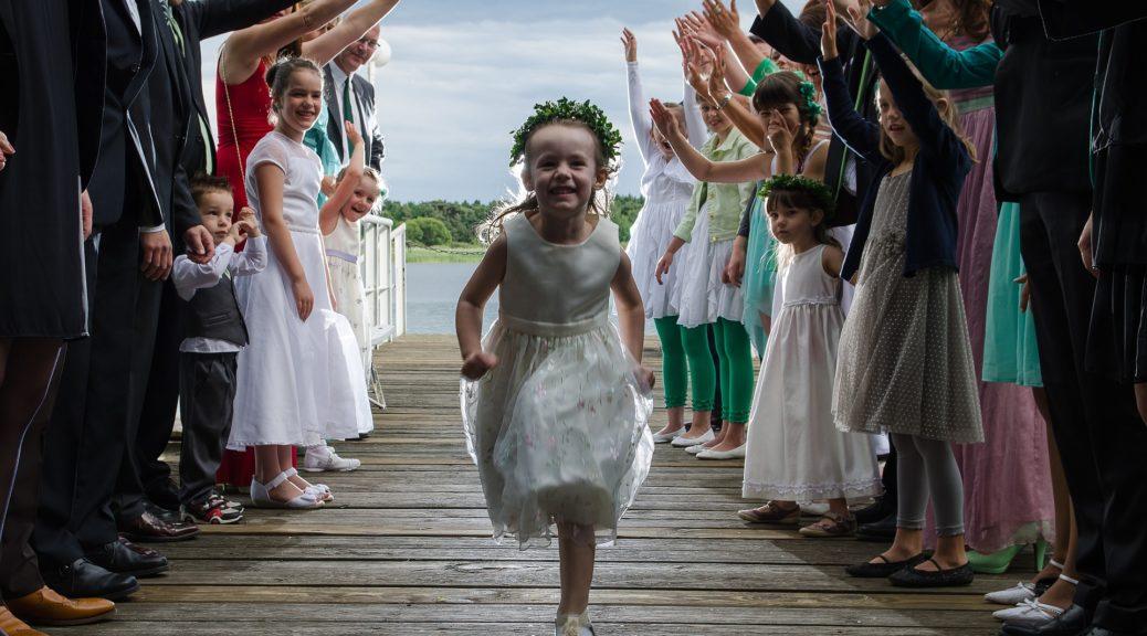 Comment occuper des enfants à un mariage