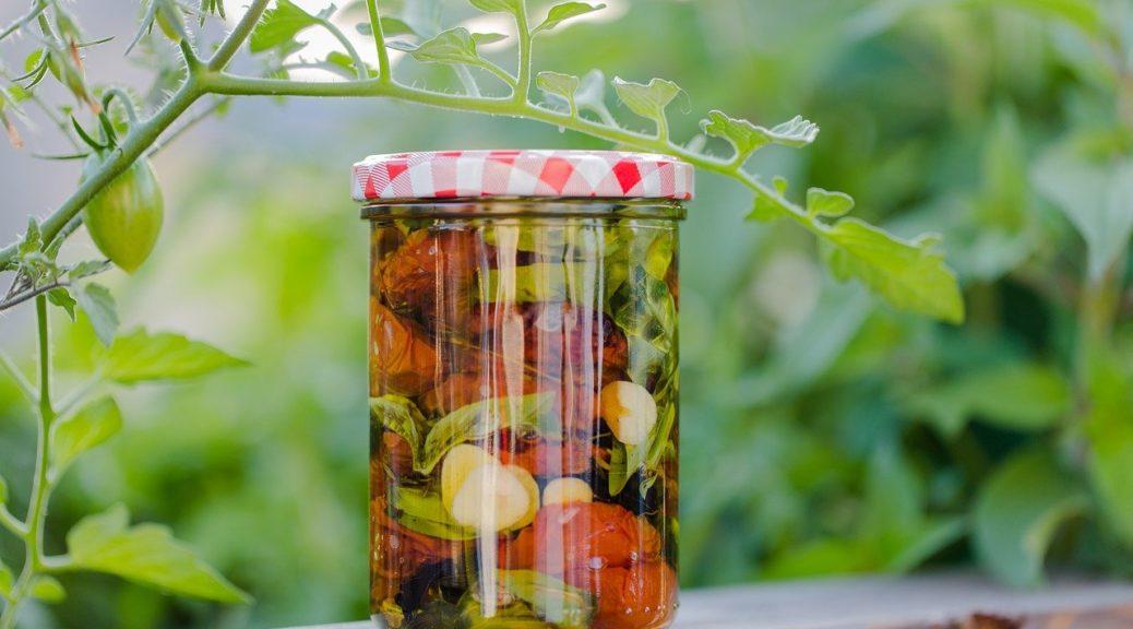 Recettes conserves à l'huile d'olive