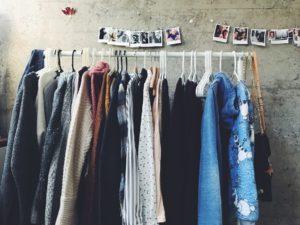 penderie-vêtements